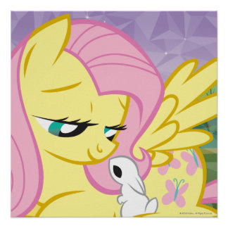 Fluttershy and Angel Poster
