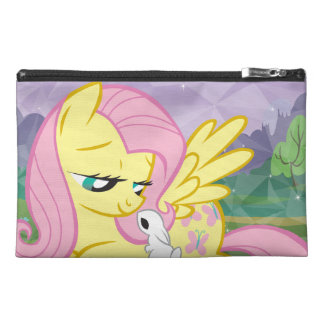 Fluttershy and Angel Travel Accessory Bag