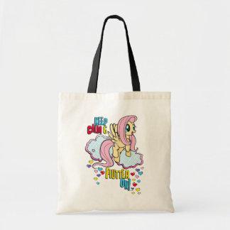 Fluttershy | Keep Calm & Flutter On! Tote Bag