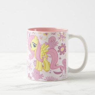 Fluttershy Two-Tone Coffee Mug