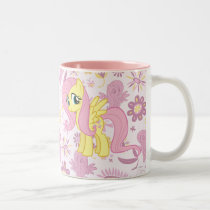 Fluttershy Two-Tone Coffee Mug