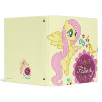Fluttershy with Birds and Bees 3 Ring Binder