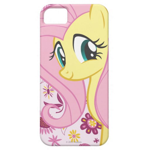 Fluttershy with Birds and Bees iPhone 5 Cases