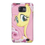 Fluttershy with Birds and Bees Galaxy S2 Cases