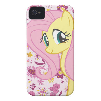 Fluttershy with Birds and Bees iPhone 4 Case