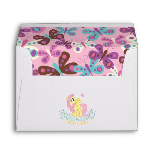 Fluttershy with Flowers Envelope