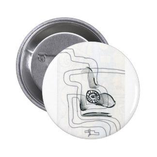 Fluxion Pinback Button