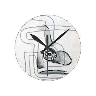 Fluxion Round Clock