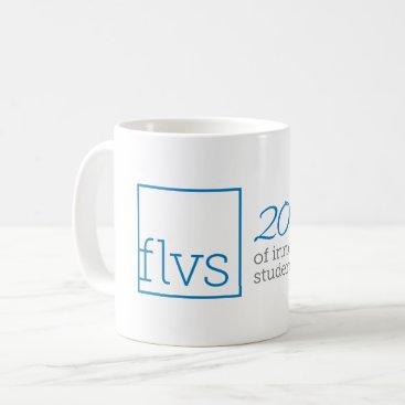 Coffee Themed FLVS 20 Years Mug
