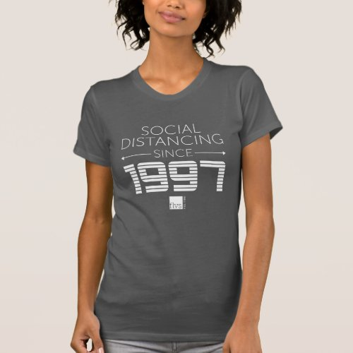 FLVS Full Time Womens Social Distancing T_Shirt