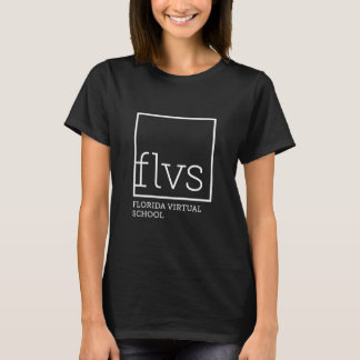 FLVS Women's Black T-Shirt