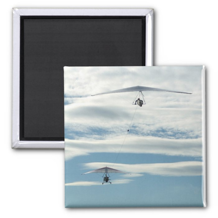 Fly! 2 Inch Square Magnet