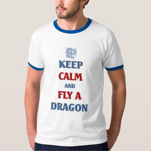 Fly a Chinese Dragon Kite Tee Shirt