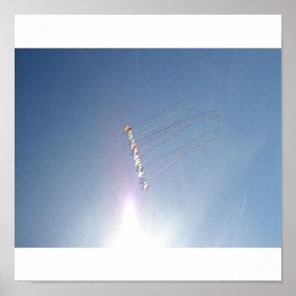 Fly a Kite, Cocoa Beach, FL Canvas Poster