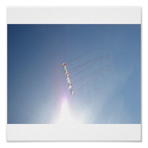 Fly a Kite, Cocoa Beach, FL Canvas Posters