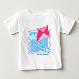 Fly a Kite Design Baby T-Shirt