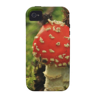 Fly Agaric Case-Mate iPhone 4 Covers