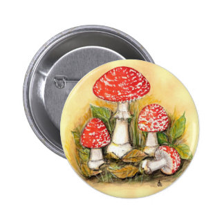 Fly Agaric Collection Button