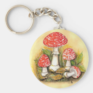 Fly Agaric Collection Key Chain