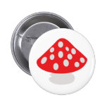 fly agaric icon pins