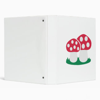 Fly agaric mushroom binder
