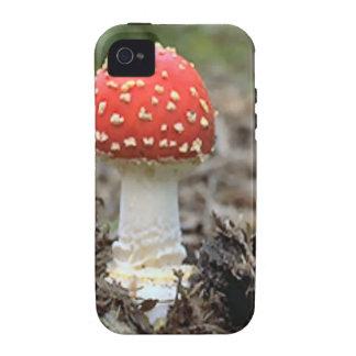 Fly agaric mushroom iPhone 4 case