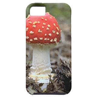 Fly agaric mushroom iPhone 5 covers