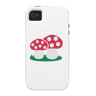 Fly agaric mushroom vibe iPhone 4 covers