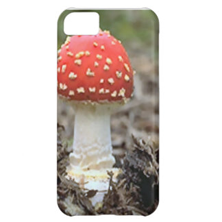 Fly agaric mushroom case for iPhone 5C