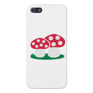 Fly agaric mushroom iPhone 5/5S covers