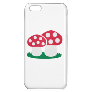 Fly agaric mushroom cover for iPhone 5C