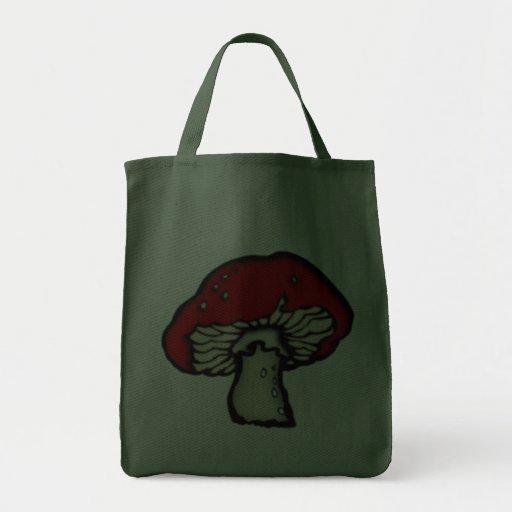Fly agaric mushroom toadstool mushroom bag