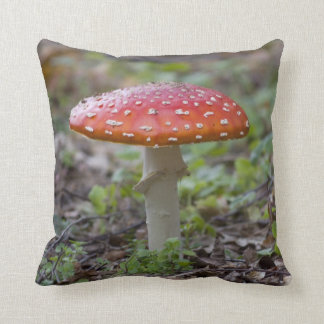 Fly Agaric Toadstool Pillow
