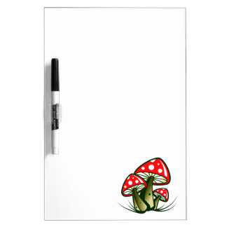 Fly agarics toadstools Dry-Erase whiteboards