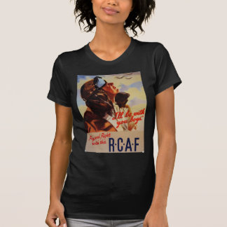 Fly and Fight With the RCAF Tshirt