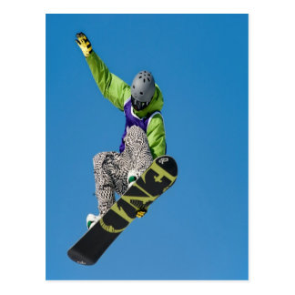 Fly and freedom Snowboard Shakedown Postcard
