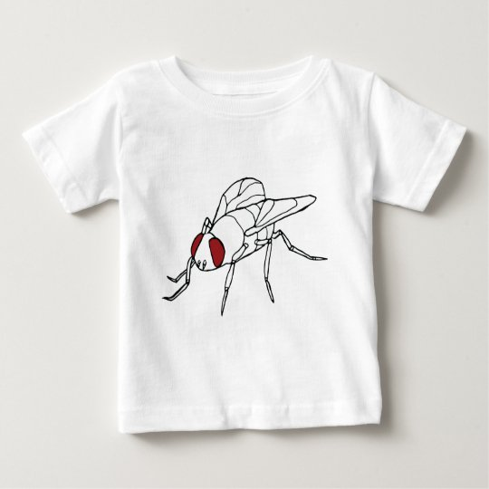 fly animal insect illustration graphic baby T-Shirt