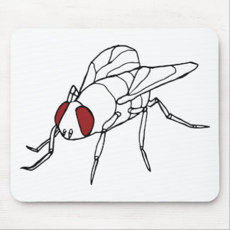 fly animal insect illustration graphic mouse pad
