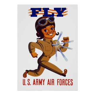 FLY -- Army Air Forces Posters