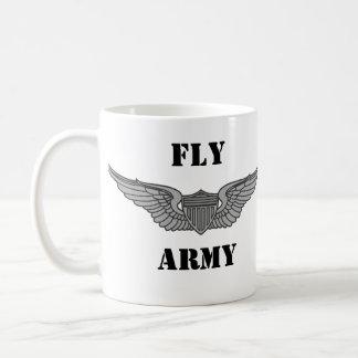 FLY ARMY CWO2 AVIATOR MUG