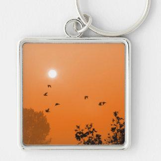 Fly at dawn Keychain