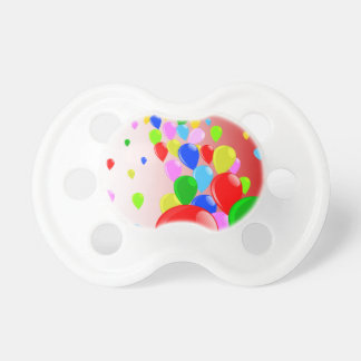 Fly Away Balloons Pacifier