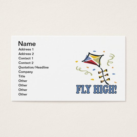Fly Away Business Card
