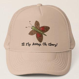 Fly Away Butterfly Trucker Hat