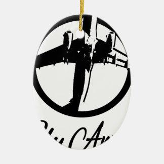 Fly Away Ceramic Ornament