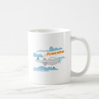 Fly Away Classic White Coffee Mug