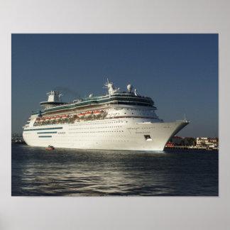 Fly Away! Cruise Ship Print