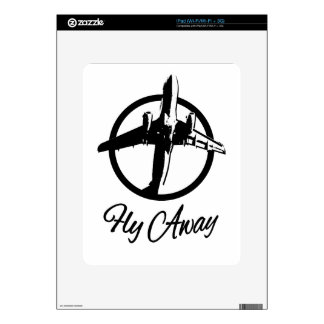 Fly Away Decal For iPad