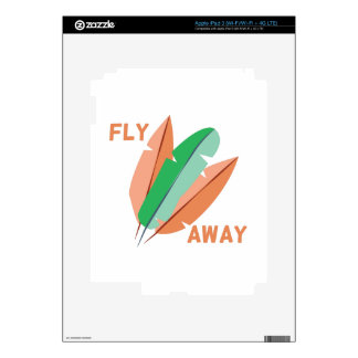 Fly Away Decal For iPad 3