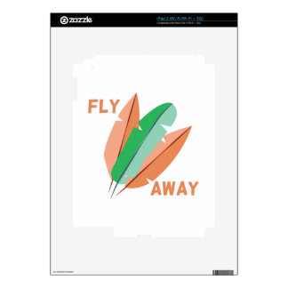 Fly Away Decal For The iPad 2